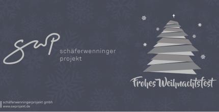 Das Team der schäferwenningerprojekt gmbh wünscht frohe Weihnachten!