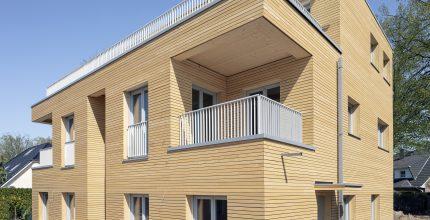 Nur noch die Außenanlagen - Fertigstellungsanzeige Holzhaus Mahlow