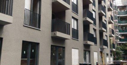 Die Baustellenhelme in der Goebenstraße können bald abgenommen werden!